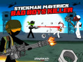 Spill Stickman Maverick: Bad Boys Killer